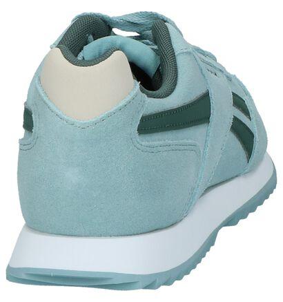 Witte Sneakers Reebok Royal Glide , Blauw, pdp