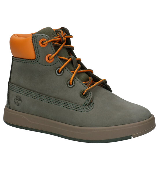 Timberland Davis Square 6 Inch Groene Boots