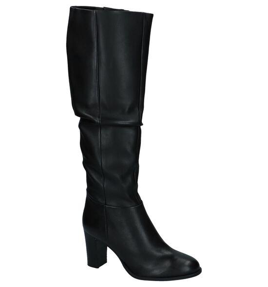 Zwarte Lange Geklede Laarzen SPM