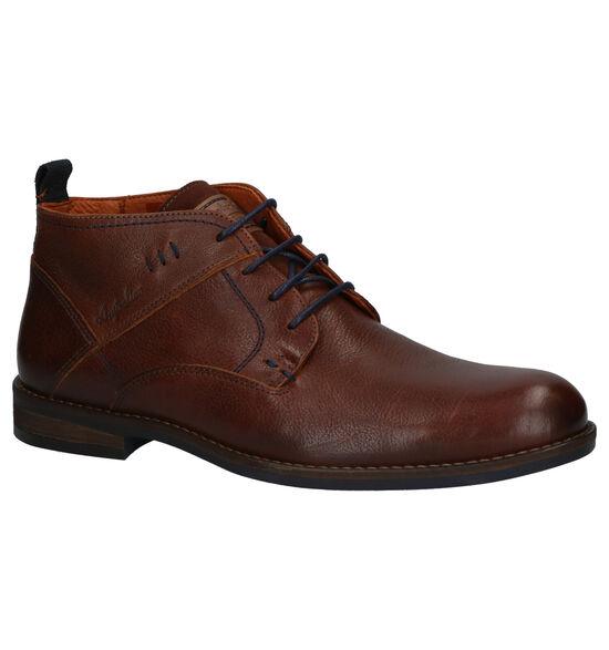Autralian Maine Cognac Boots