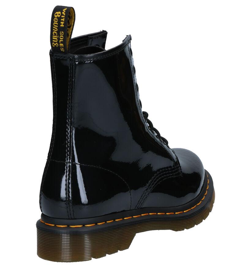 Dr. Martens 1460 Zwarte Boots in lakleer (276483)