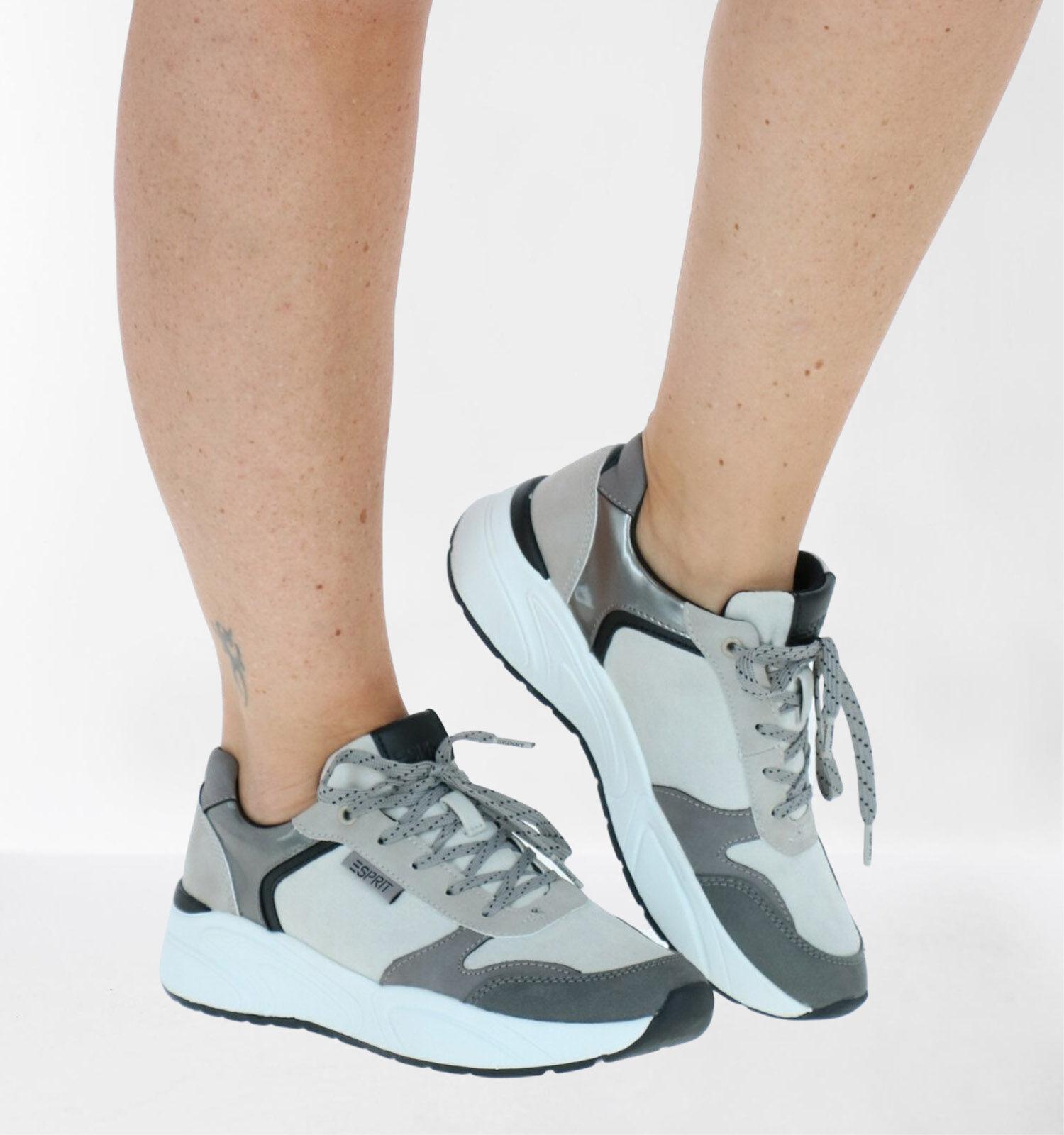 Esprit Grijze Sneakers