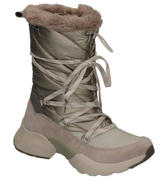 Tamaris Fashletics Beige Snowboots