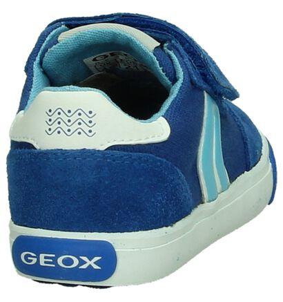 Blauwe Babyschoen Geox in stof (190637)