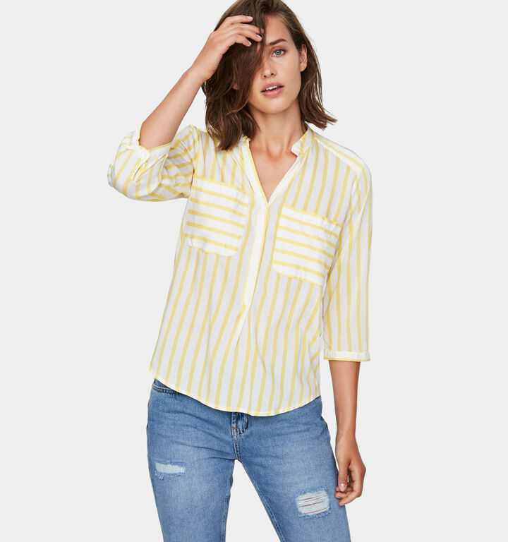 Vero Moda Geel Hemd
