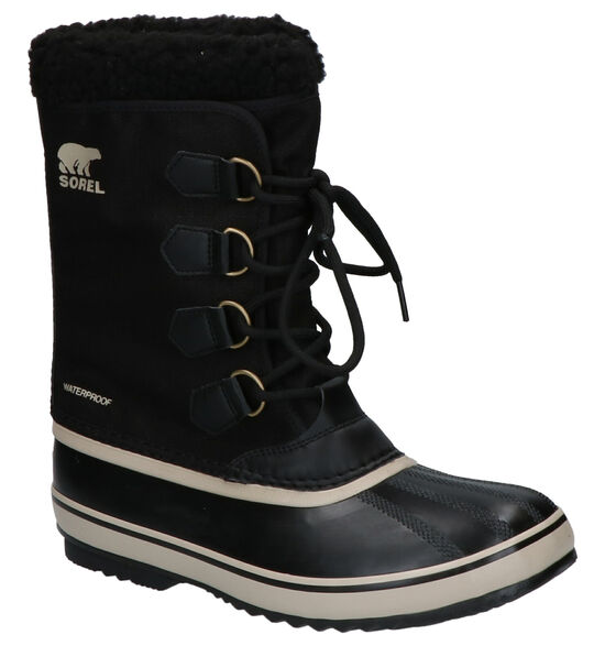 Sorel Pac Nylon Zwarte Snowboots