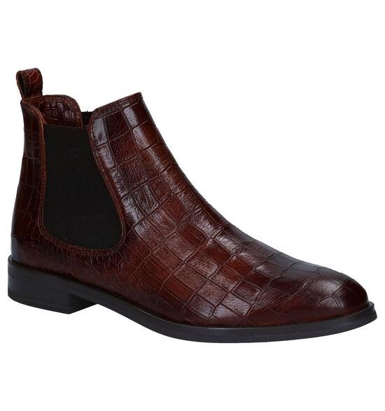 Hampton Bays Cognac Chelsea Boots