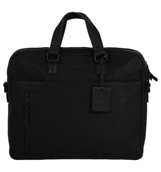 Burkely Rain Riley Zwarte Laptoptas