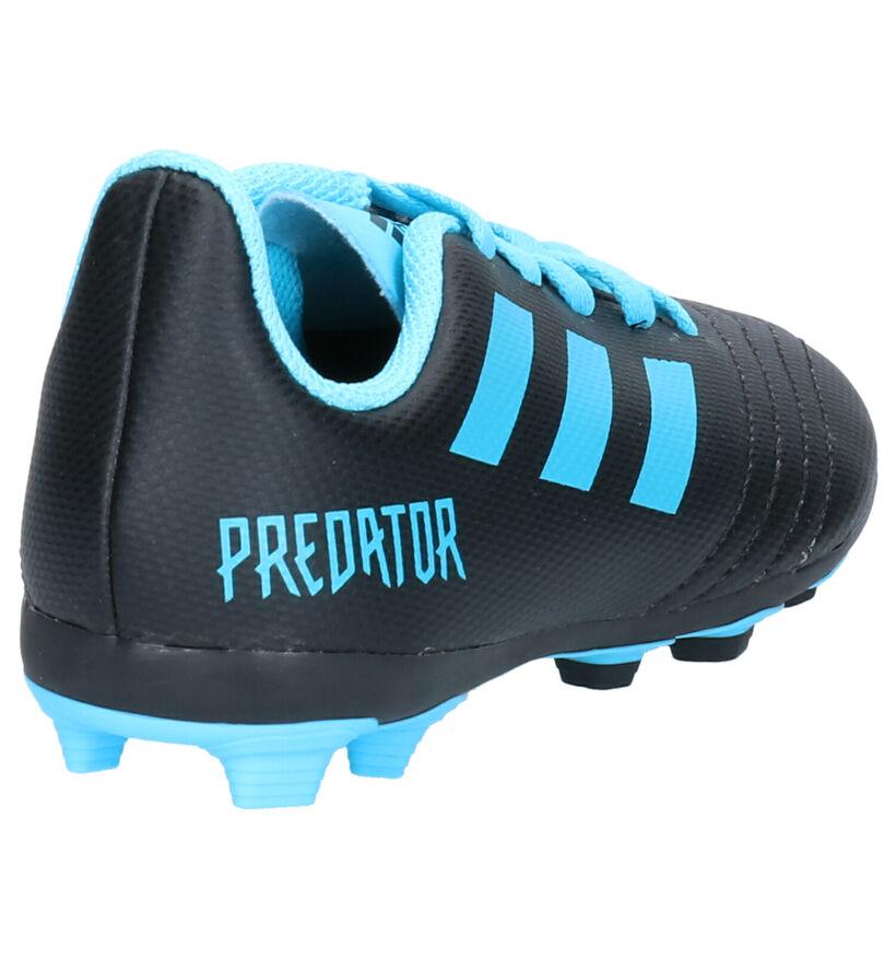 adidas Predator Zwarte Voetbalschoenen in kunstleer (252893)