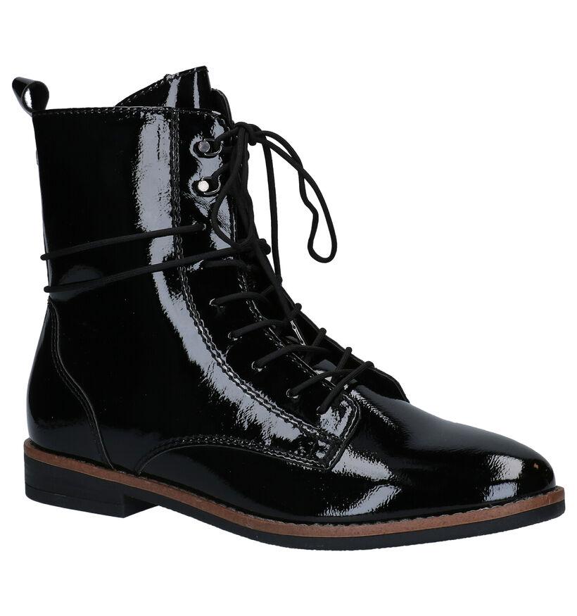 Tamaris TOUCH it Zwarte Boots in kunstleer (280667)