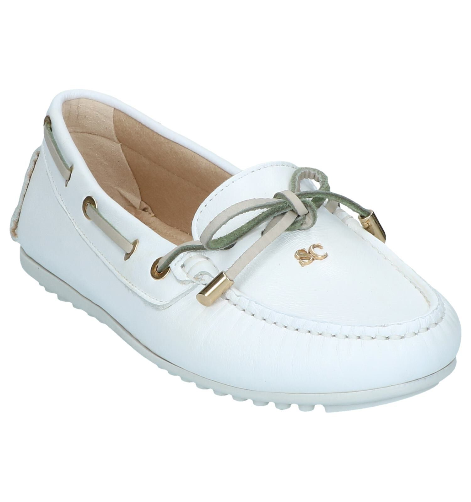 Witte Scapa Mocassins