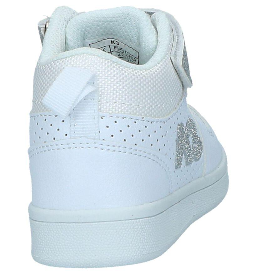 K3 by Torfs Witte Hoge Sneakers in kunstleer (236947)