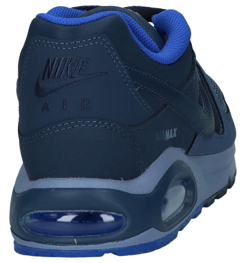 Blauwe Sneakers Nike Air Max Command in kunstleer (233343)