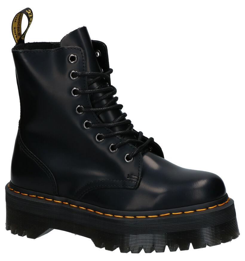 Dr. Martens Jadon Zwarte Boots in leer (265029)