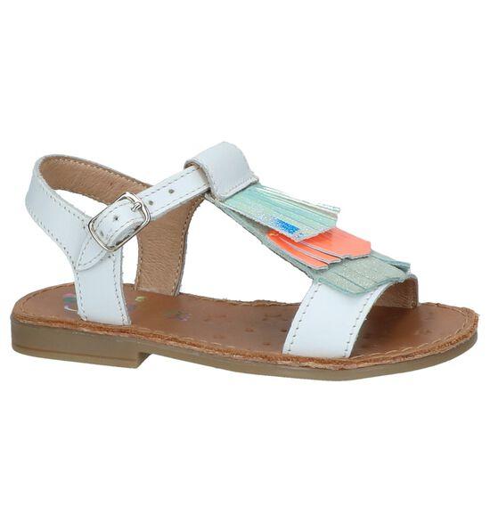 Witte Sandalen Shoo Pom
