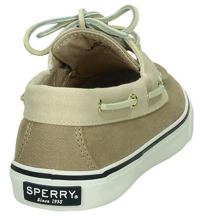 Sperry Bahama Licht Beige Bootschoenen, Beige, pdp
