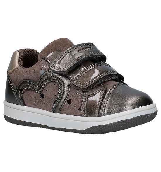 Geox Flick Bronzen Babyschoentjes