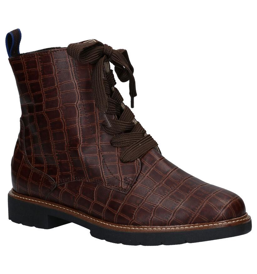 Ara Manchester Bruine Boots in leer (282776)