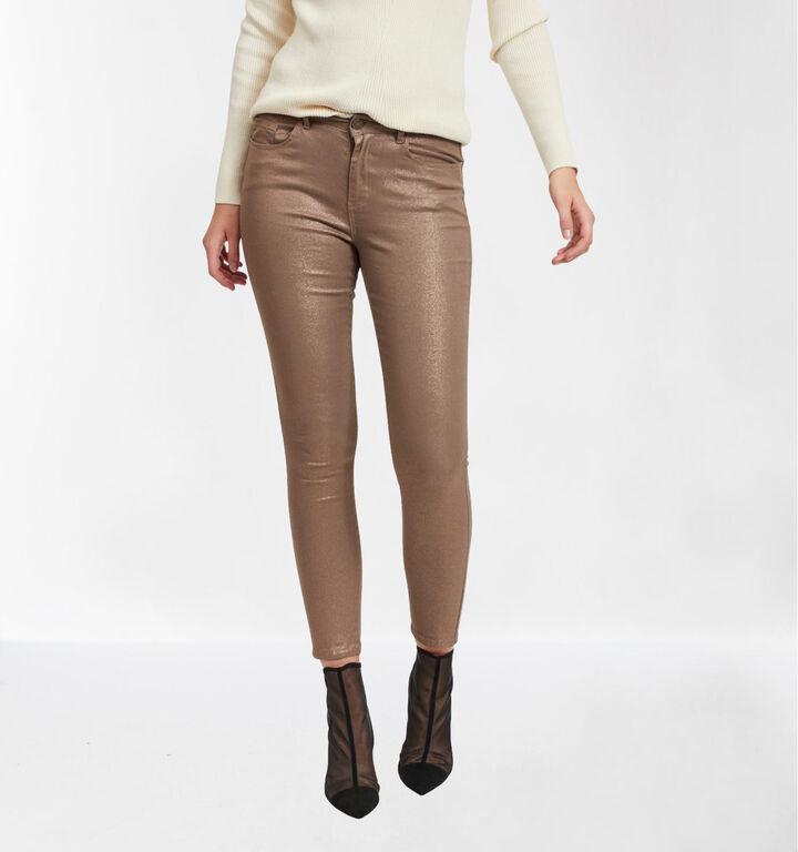Vila Bronzen Skinny Fit Jeans