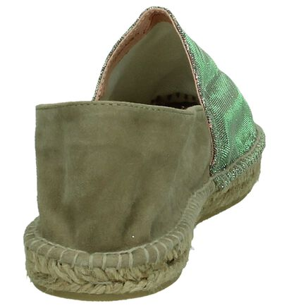Espadrilles Taupe/Zilver Gaimo, Taupe, pdp