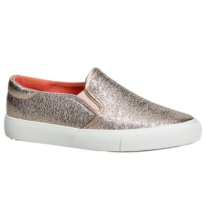 Slip-On Sneaker Ghost Rockers by Torfs Metallic Roze in stof (189985)