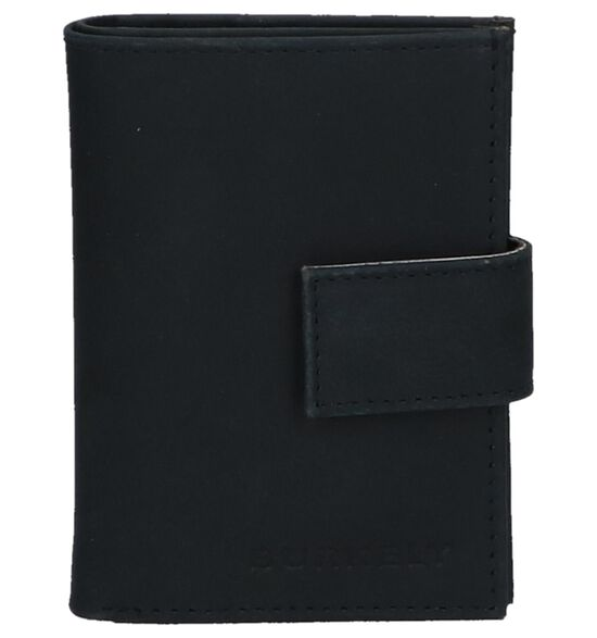 Donkerblauwe Kaartenhouder Burkely CC Mini Wallet