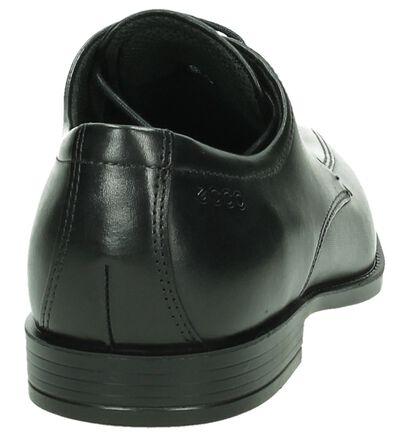 Zwarte Ecco Edinburgh Veterschoenen, Zwart, pdp