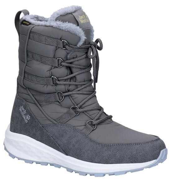 Jack Wolfskin Nevada Texapore Grijze Snowboots