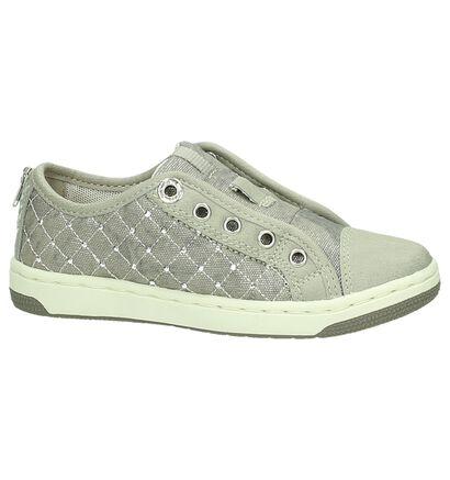 Grijze Geox Slip-on Sneaker , Grijs, pdp