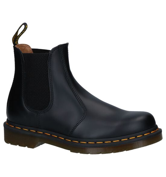 Zwarte Dr. Martens Smooth Chelsea Boots