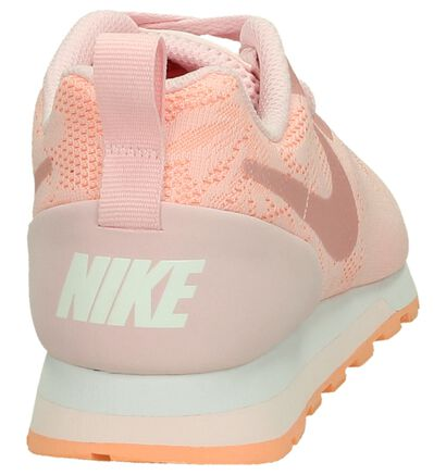 Roze Sneaker Nike MD Runner in kunstleer (198253)
