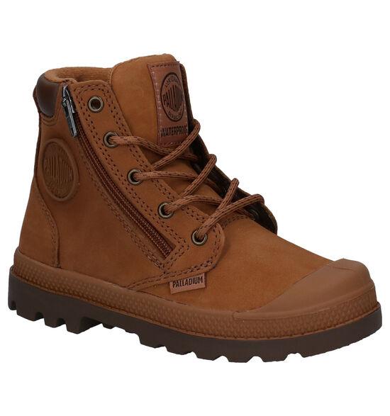 Palladium Pampa Hight Cuff Cognac Boots