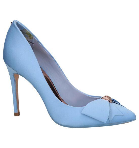 Lichtblauwe High Heel Pumps Ted Baker Skalet 2