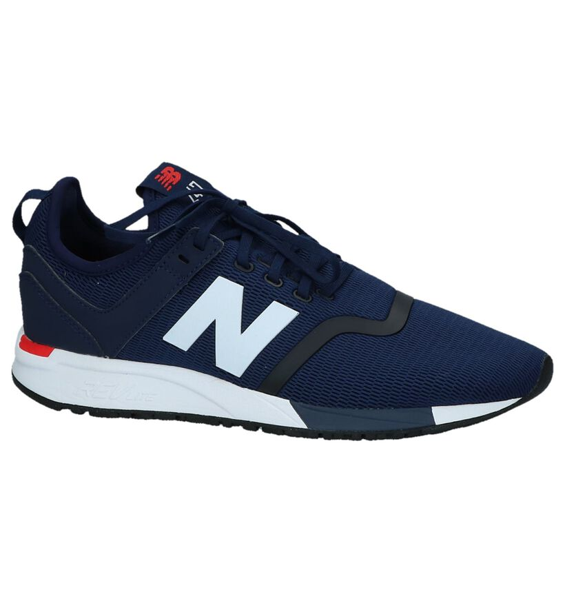 Donker Blauwe Sneakers New Balance MRL 247 in stof (220601)