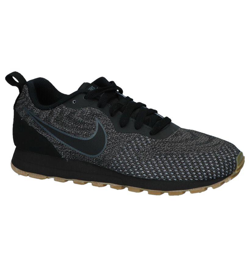 Sneakers Donker Grijs Nike MD Runner in kunstleer (218319)