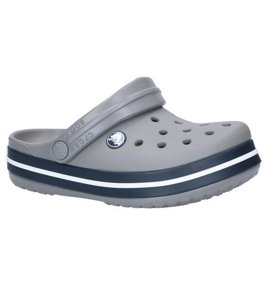 Crocs Crocband Clog Grijze Slippers