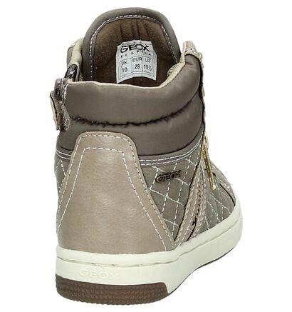 Grijze Hoge Sneakers Geox, Grijs, pdp