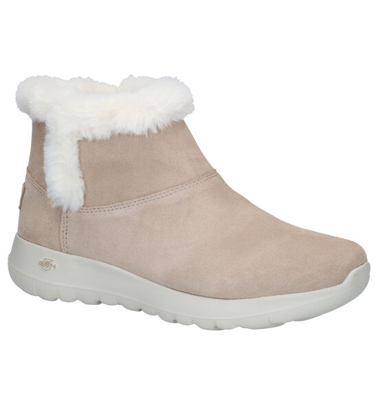 Skechers ON-THE-GO Beige Boots