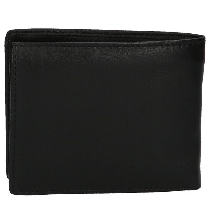 Savage Zwarte Lederen Portefeuille in leer (219634)