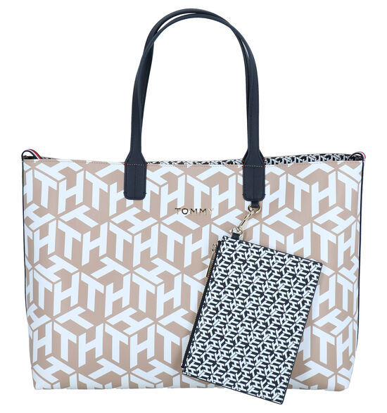 Tommy Hifiger Iconic Omkeerbare Multicolor Shopper