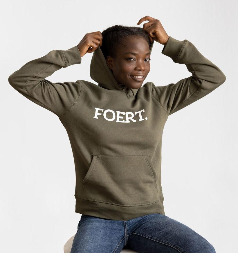 Foert Zwarte Unisex Sweater (289645)