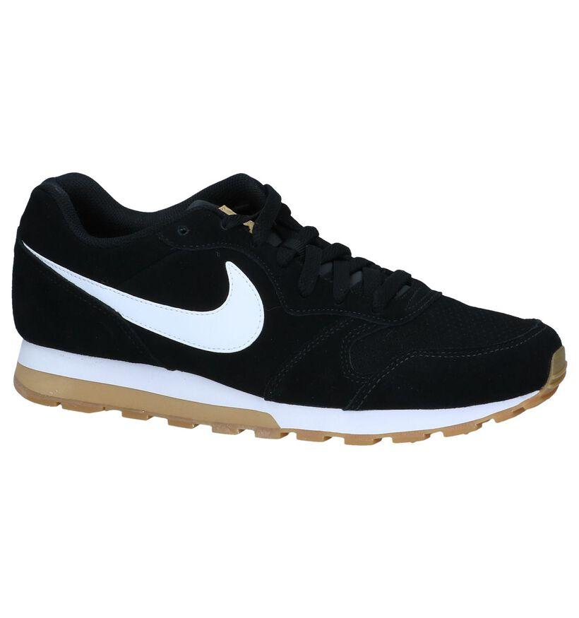 Zwarte Sneakers Nike MD Runner 2 in daim (237855)