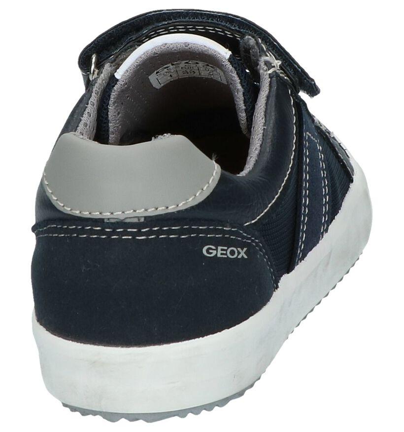 Schoen Donkerblauw Geox in leer (237939)