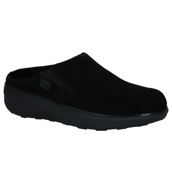 FitFlop Loaff Zwarte Pantoffels