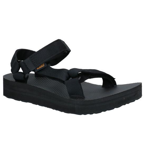 Teva Midform Zwarte Sandalen