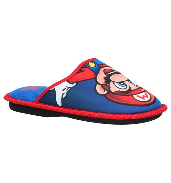 Mario Blauwe Pantoffels