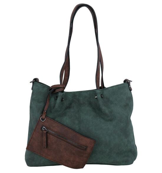 Emily & Noah Groene Bag in bag Schoudertas