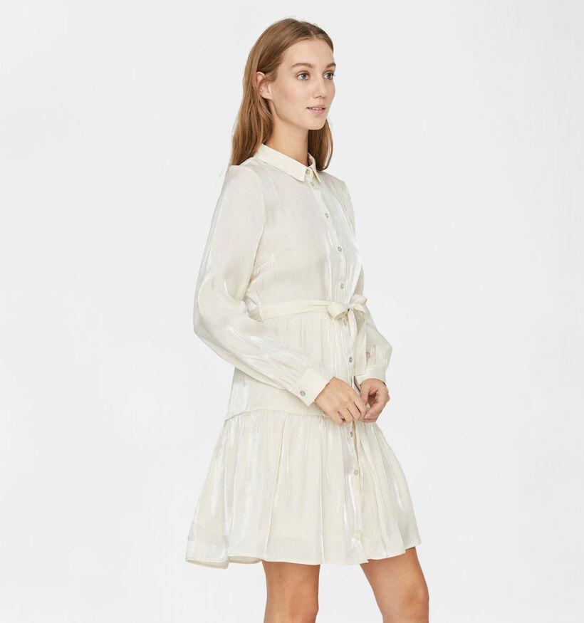 Vero Moda Chiara Beige Hemdkleed (284378)