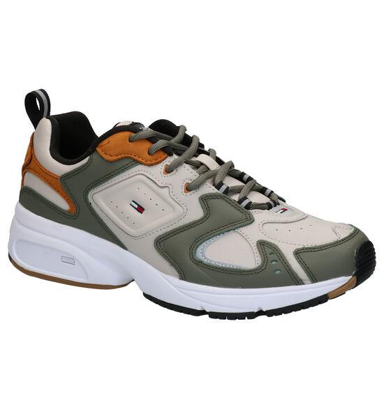 Tommy Hilfiger Heritage Beige/Kaki Sneakers