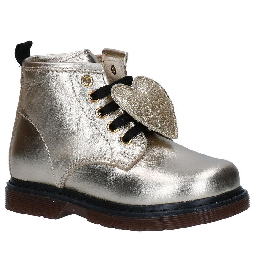 Bumba Gouden Boots in leer (281376)
